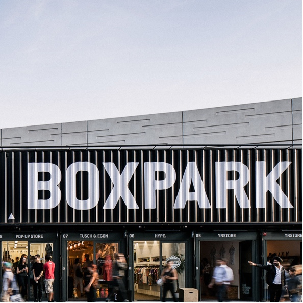 Boxpark, Shoreditch, London